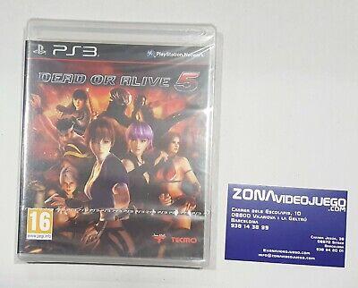 Dead or Alive 5, Playstation 3, Pal-Esp. Nuevo a estrenar.
