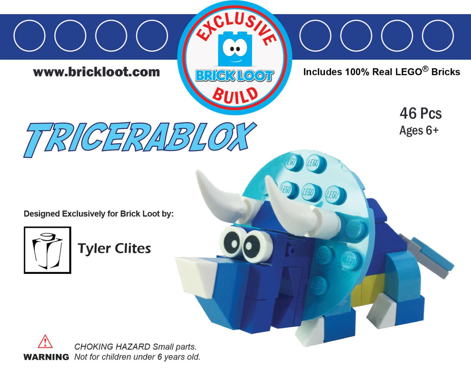 100/% LEGO Bricks Exclusive Brick Loot Pizza Genie 5000 by Tyler Clites