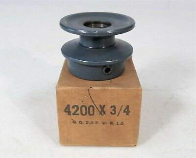Maurey 4200 X 34 V Belt Pulley 2.00 Od 34 Bore 1 Groove 5l B Bx Series