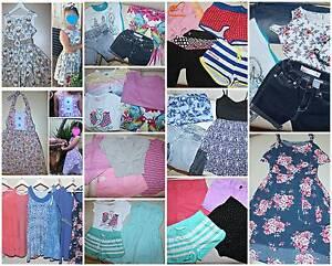 Girls Lot Clothes 8-10 Pumpkin Patch,Billabong,Roxy,Just Jeans + Browns Plains Logan Area Preview