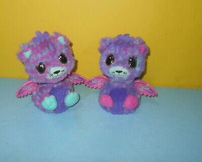 Hatchimals Surprise Peacat Twins Interactive Talking Toy Pink & Purple Pair
