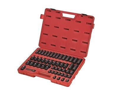 "Sunex 3351 3/8"" Dr. 51pc Metric Impact Socket Set"