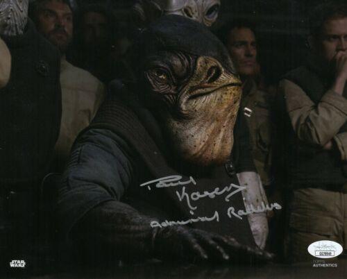 "Paul Kasey Autograph Signed 8x10 Photo - Star Wars ""Admiral Raddus"" (JSA COA)"