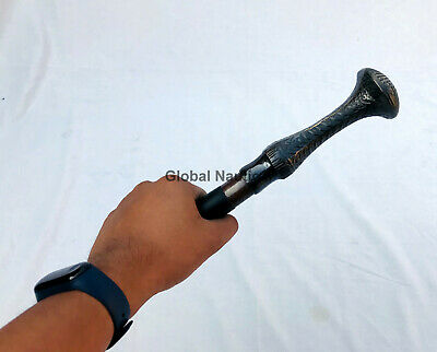 Designer Brass Handle Victorian Style Walking Stick Handle for Walking Cane