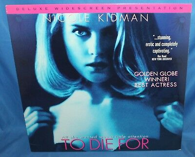 TO DIE FOR 1995 LASERDISC COLUMBIA TRISTAR HOME VIDEO LASER VIDEO DISC SEALED