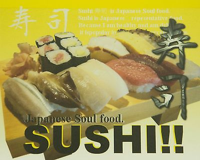 """Wafuu Mouse pad  Pictorial """"Sushi!! JAPAN"""""""