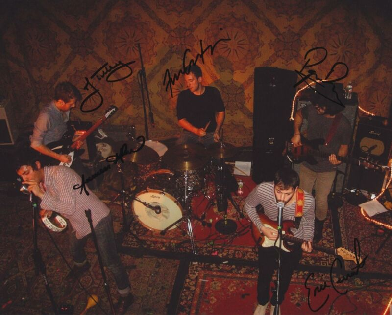 YOUNG THE GIANT SIGNED 8X10 PHOTO 3