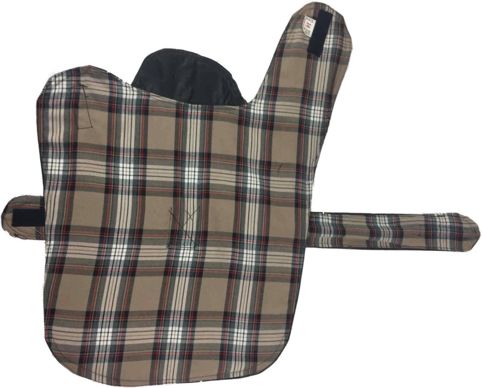 New Wax Dog Coat British Waterproof Cotton Rain Outdoor Windproof Puppy 9