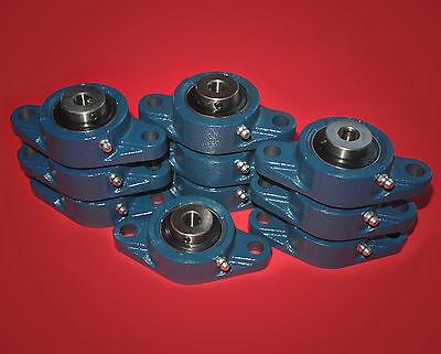 10 Flanschlager / Flanschlagereinheit UCFL 206 / 30 mm Wellendurchmesser