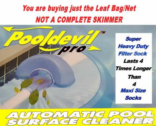 PoolDevil Bag Pool Devil Net Automatic Surface Skimmer Super HD Filter Replace
