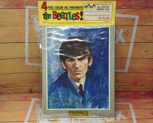 1964 NEMS The Beatles 4 Buddle Club Limited VINTAGE Oil Portraits NEW SEALED