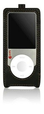Macally Tasche für iPod Nano 4G Divo-N Gürtelschlaufe/Lanyard, Leder Braun 494