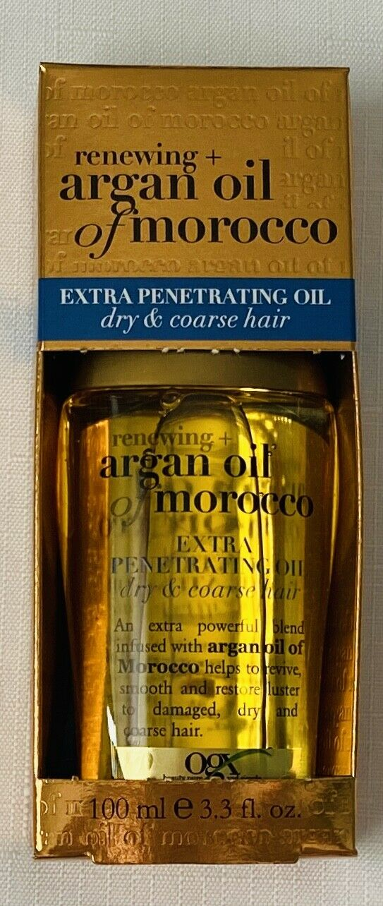 NEW OGX Renewing Argan Oil of Morocco Extra Penetrating Oil