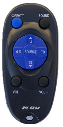 New JVC Replacement Wireless Remote Control  For JVC Car Stereo RM-RK50