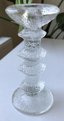 Iittala Festivo Candlestick Candle Holder Timo Sarpaneva Made In Finland 4 Rings