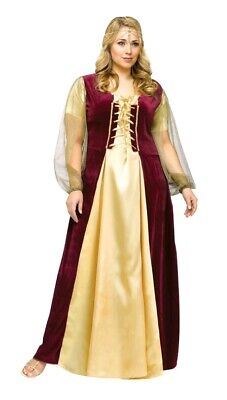 Womens Classic Juliet Capulet Theatre Plus Size 2X 22W-24W Costume Fun World