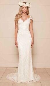 Lace Wedding Dress Size 0 Top Bridal