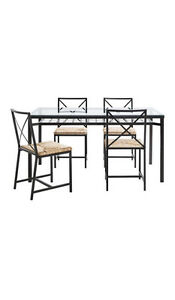 Dining table metal (only table) SUPER price. 6 places.