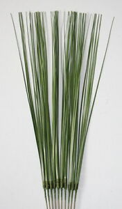 10 x Artificial Onion Stem Spray Onion Bear Grass - Choose Colour -Wedding-Craft