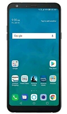 LG Stylo 4 - 32 GB – Unlocked (AT&T/Sprint/T-Mobile/Verizon) – Aurora Black  NEW