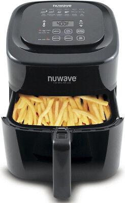 NuWave 6 Quart Brio Digital Air Fryer - Black