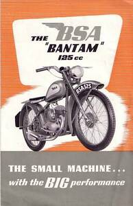 BSA D1 Bantam (1948-63) wanted Seaford Morphett Vale Area Preview