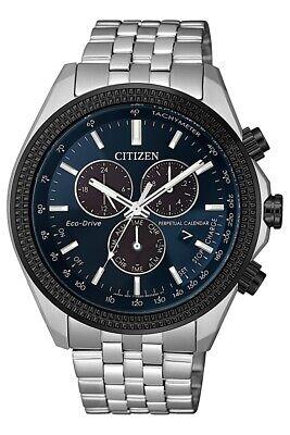 Citizen Eco-Drive Men's Perpetual Calendar Chronograph 44mm Watch BL5568-54L