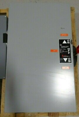 Ge Tc35324 200a 240vac 3-phase Enclosed Double Throw Safety Switch