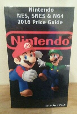 Nintendo NES SNES & N64 Outlay Guide List Of Games and Current Values NEW - 2016