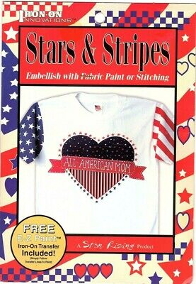Iron On Innovations - Iron-On Transfers - Stars & Stripes -