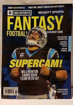 CBS Sports Fantasy Football 2016 Draft guide Cam Newton