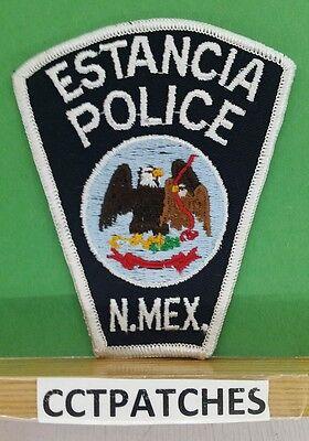 ESTANCIA, NEW MEXICO POLICE SHOULDER PATCH NM