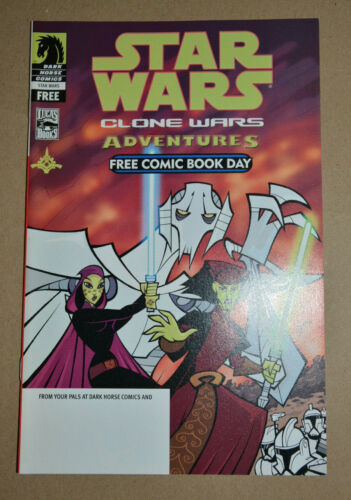 STAR WARS ADVENTURES FCBD 2004 1ST GENERAL GRIEVOUS DARK HORSE COMICS NO STAMP