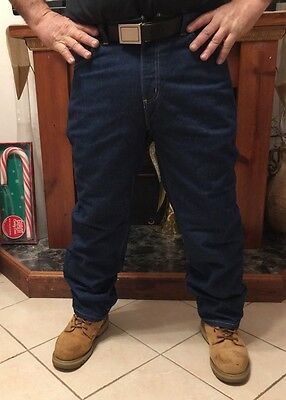 NEW Carhartt Men's Flame/ Fire Resistant Jeans Relaxed Fit Work Pants Size 40X32