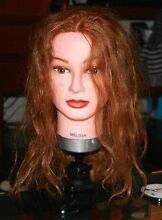 Melissa hairdressing mannequin head and clamp Gordon Park Brisbane North East Preview