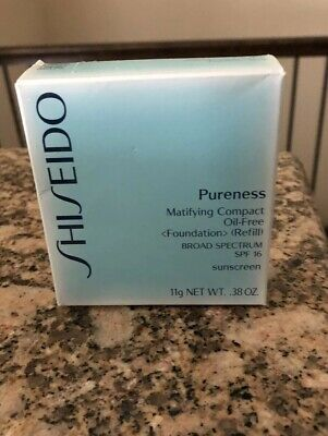 Shiseido Pureness Matifying Compact Oil Free  -20 Light Beige -NIB
