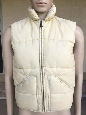 Vintage A&M Industries Full Zip Puffer Down Sweater Best Jacket USA Made