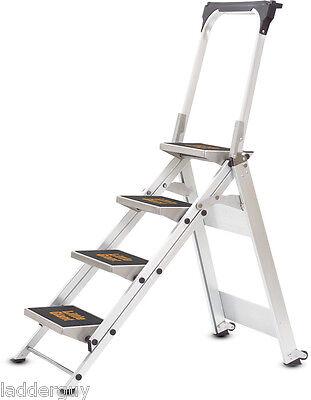 4 step Little Giant Safety Step Ladder jumbo 10410B