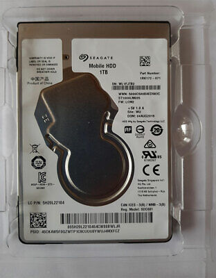 Sata Hdd Mobile (Seagate ST1000LM035 Mobile HDD  2,5
