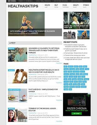 Autopilot Health News Website
