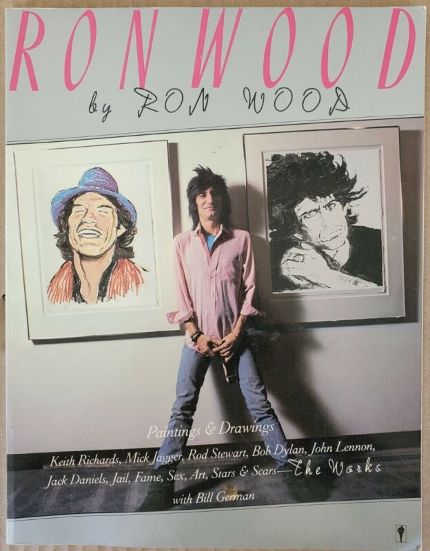 SIGNED. Ron Wood The Works by Ron Wood.