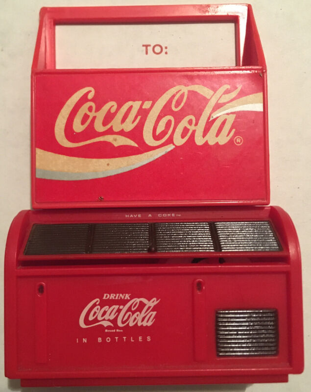 Coca-Cola Tunes Musical Cooler & Carrier Magnet 1997 & 1993 Ice Box Collectors