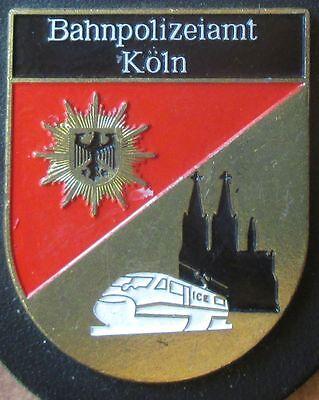 Brustanhänger Verbandsabzeichen Bahnpolizeiamt Köln (R)