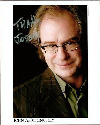 John A. Billingsley, Star Trek Actor, Signed Photo, COA, UACC RD 036
