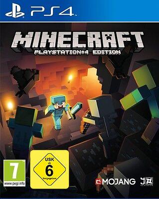 PS4 Spiel Minecraft: PlayStation 4 Edition NEU&OVP Playstation 4
