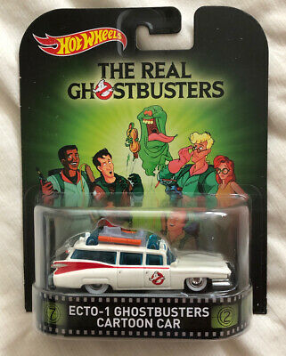 Hot Wheels Retro Entertainment  The Real Ghostbusters ECTO-1 Cartoon Car