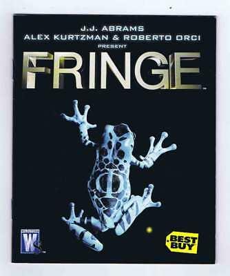Best Buy Fringe Special DVD Mini Promo Comic TV Series VF/NM 2008 Wildstorm