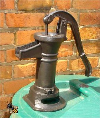 Hand Water Pump Working Cast Iron Pitcher or Garden Ornament New
