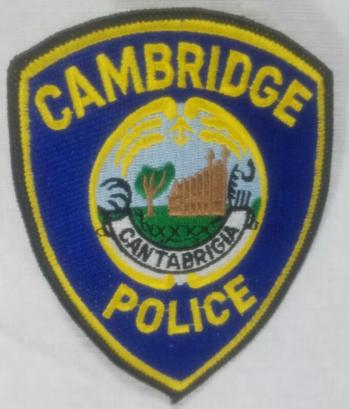Cambridge Massachusetts Police Department Patch