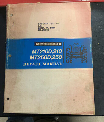 Mitsubishi Mt210d Mt250d 210 250 Tractor Repair Manual 83